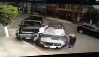 VIDEO: Atropellan a delincuente y frustran secuestro en Anzures