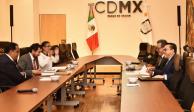 Entrega GCDMX información sobre 18 dependencias a equipo de transición
