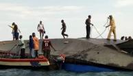 Al menos 47 muertos tras el naufragio de un ferry en Tanzania