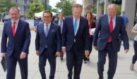 Delegación mexicana se reúne con representación comerciante de EU para renegociar TLCAN
