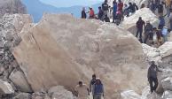 Aumenta a 5 el número de víctimas por derrumbe en mina de Hidalgo