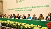 Anuncian plan de reconstrucción para la Ciudad de México