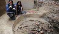 Halla INAH entierro múltiple de una aldea de hace 2400 años en Tlalpan