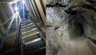 """FOTOS: En Tecate, descubren túnel estilo """"Chapo"""" que conectaría con EU"""