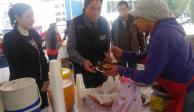 Feria del tamal presente en la delegación Cuauhtémoc