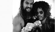 """El anillo de """"Aquaman"""" que lo une con Lenny Kravitz"""