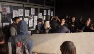 Encapuchados provocan disturbios en Rectoría de la UNAM