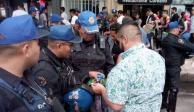 Detienen a 4 por robo durante celebraciones por el Tri y marcha LGBTTTI