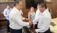 Ofrece Astudillo colaboración a gobierno electo de Ayutla de los Libres