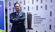 Recibe Sergio José Gutiérrez premio en Londres