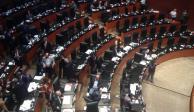 """En Senado, Morena reduce tiempo en Tribuna; oposición lo llama """"acuerdo mordaza"""""""