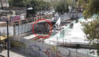 Muro de centro comercial causa socavón en Oceanía