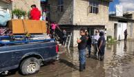 FOTOS: Por desbordamiento del Río Lerma, mil viviendas afectadas