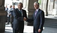 López Obrador se reúne con gobernador Alfredo del Mazo