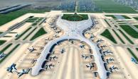 Construcción del NAIM, al 31.5% de avance: Grupo Aeroportuario
