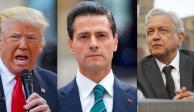 Felicita Trump a EPN y confía en buena relación con AMLO