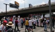 Termina sin incidentes mitin en el Zócalo por conmemoración del 10 de junio