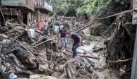 Continúa la búsqueda de víctimas por lluvias en Michoacán, Sinaloa y Sonora