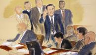 """Testifica """"El Rey"""" Zambada contra """"El Chapo"""" en juicio de NY"""