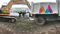 Del Mazo instruye a reforzar ayuda a afectados por desborde de Río Lerma