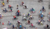 Arranca paseo dominical Muévete en Bici en la CDMX
