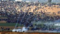 Mueren 7 palestinos tras enfrentamiento con israelíes en Viernes Santo