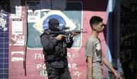 Guerra de Bolsonaro ya impera en favelas
