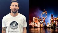 VIDEO: Cirque du Soleil anuncia show sobre la vida de Messi