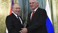 Vladimir Putin recibe a presidente de Cuba en Moscú