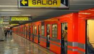 Muere hombre al arrojarse a vías del Metro en la estación Hangares