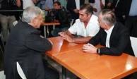 López Obrador se encuentra con Jaime Rodríguez en Monterrey