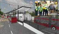 Arrancan obras de construcción del Metrobús a Cuautepec en la GAM