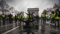 """Francia se blinda ante protestas de los """"chalecos amarillos"""""""