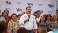 """""""En BJ la gente no permitirá que se viva como en otras delegaciones"""", asegura Christian Von"""