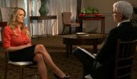 Actriz porno revela en TV que ha sido amenazada por hablar de Trump