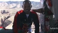 VIDEO: Will Smith salta del bungee por sus 50 años