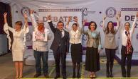 Intercambian ataques e iniciativas en debate de la CDMX