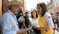 Karen Quiroga va por solución a problema de agua