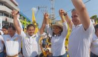 Inicia Joaquín Badillo campaña por alcaldía de Acapulco