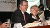 Diseño de nueva política exterior, el mayor reto, considera Ebrard