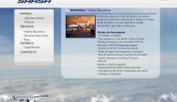 Desaparece página de empresa dueña de helicóptero colapsado
