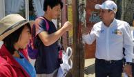 Mi prioridad, crear empleo en la Álvaro Obregón, asegura Amilcar Ganado