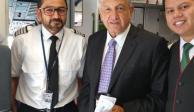 Aerolínea aprovecha a AMLO para hacerse publicidad