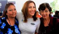 Promete Karen Quiroga velar por seguridad de mujeres de Iztapalapa