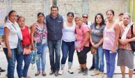 Se compromete Samuel Gurrión a regresar la paz a Oaxaca de Juárez