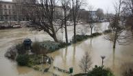 FOTOS: Se desborda río Sena en París; el Museo del Louvre cierra temporalmente