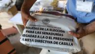 Descarta INE afectación por robo de 34 paquetes electorales