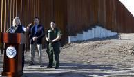 Seré clara, los muros funcionan, afirma secretaria de Seguridad de EU