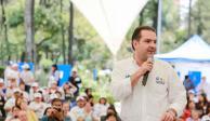 """Rechaza Von Roehrich a candidatos que """"lucran con la desgracia"""" en BJ"""