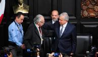 FOTOS: Entrega Senado a Carlos Payán la Medalla Belisario Domínguez